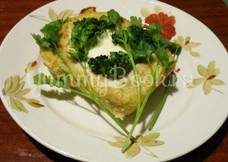 Кекс рыбный с брокколи - шаг 18
