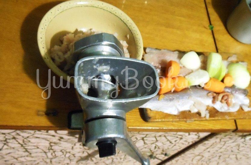 Кекс рыбный с брокколи - шаг 2