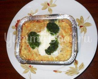 Кекс рыбный с брокколи - шаг 16