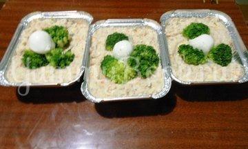 Кекс рыбный с брокколи - шаг 14