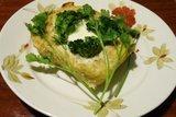 Кекс рыбный с брокколи