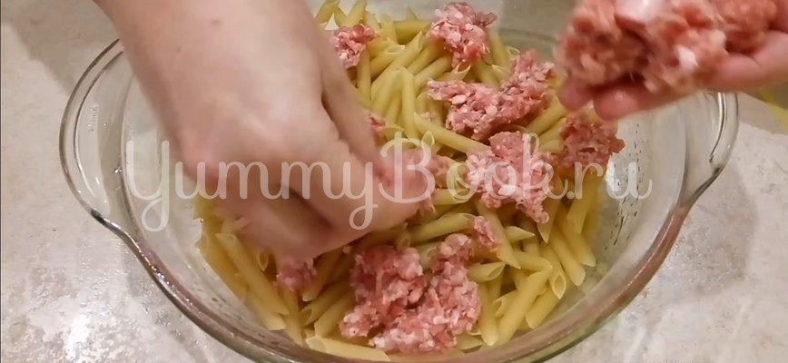 Макароны с фаршем в духовке - шаг 7