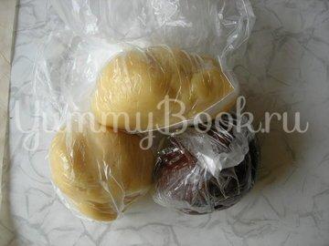 Домашнее печенье «Баттенбург» - шаг 3