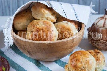 Дрожжевые картофельные булочки с луком - шаг 14