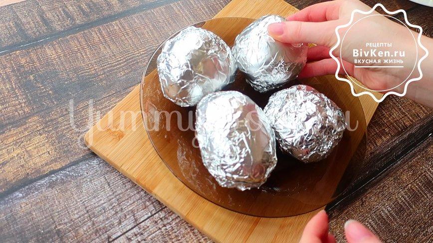 Крошка картошка в духовке с 4 начинками - шаг 1