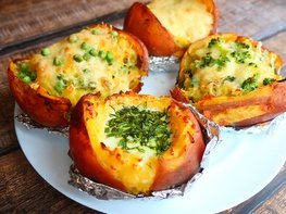 Крошка картошка в духовке с 4 начинками