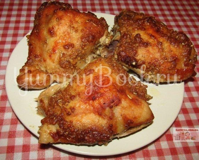 Курица, запеченная в горчичном маринаде - шаг 4