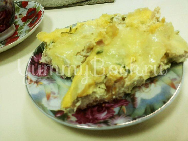 Куриная запеканка (пирог) - шаг 8