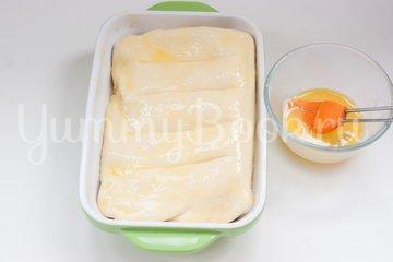 Рыбный пирог из слоёного теста - шаг 5