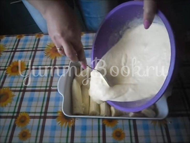 Банановая запеканка с йогуртом  - шаг 4