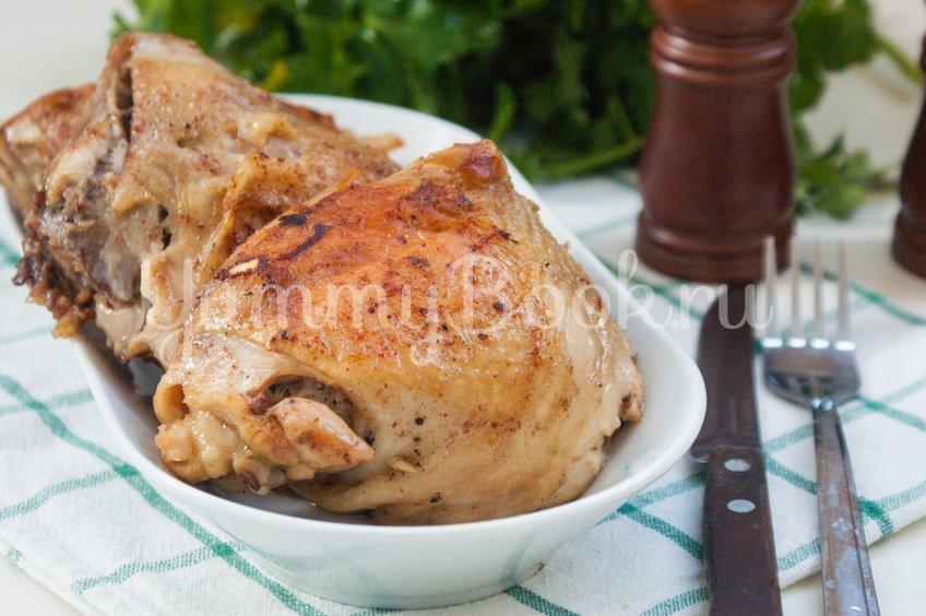 Куриные бёдра запечённые в мультиварке