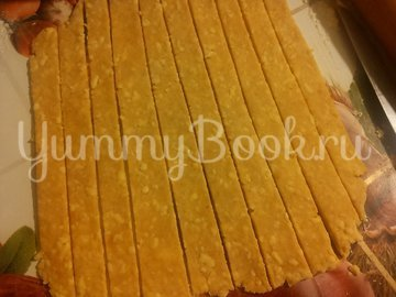Сырные пикантные палочки - шаг 5