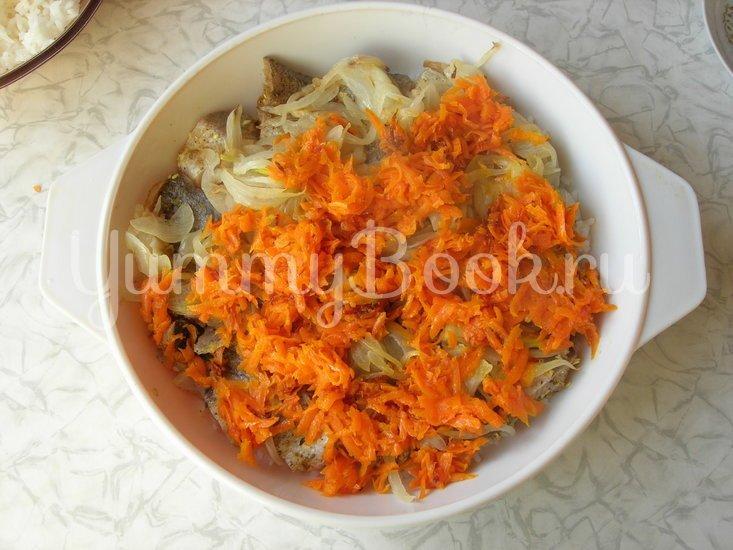 Рыбная запеканка с рисом и сыром - шаг 3