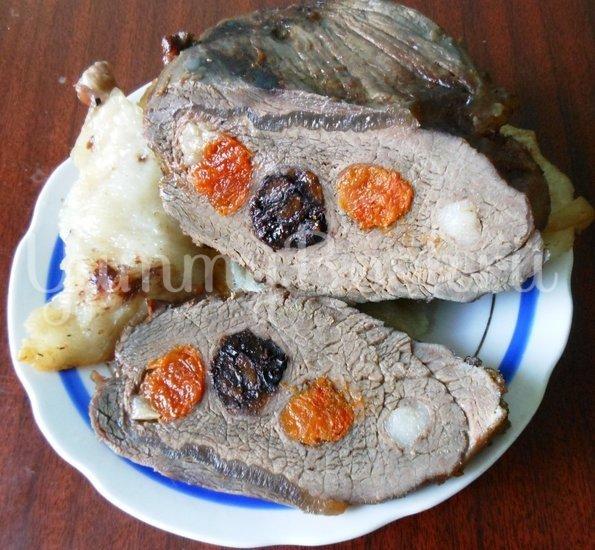 Говядина с сухофруктами, запечённая в фольге - шаг 12