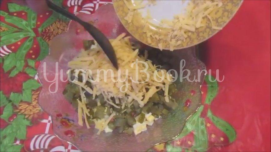 Салат с ветчиной и сыром «Домашний» - шаг 3