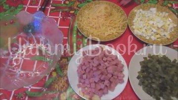 Салат с ветчиной и сыром «Домашний» - шаг 2