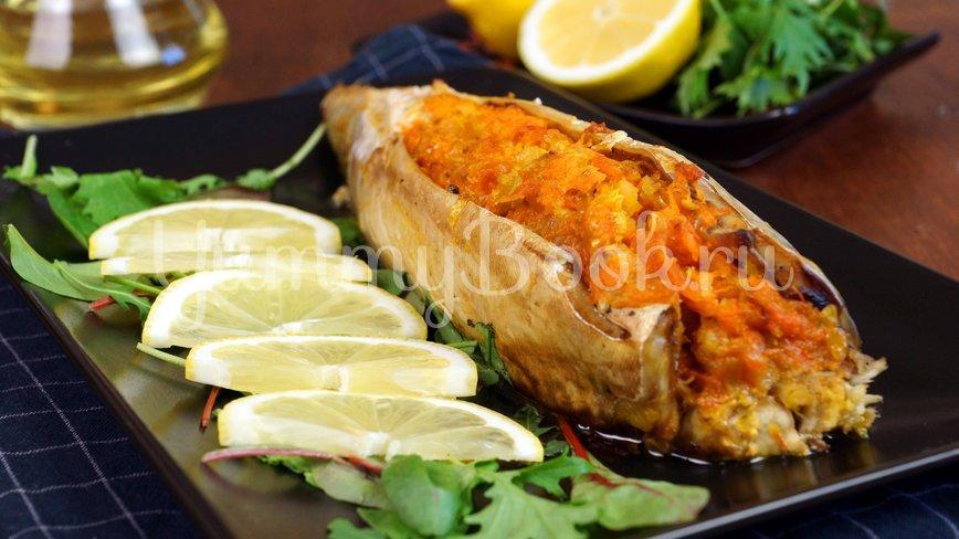 Скумбрия запеченная в духовке с овощами - шаг 7