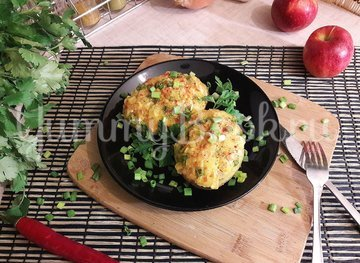 Запечённый фаршированный картофель с копчёной грудкой - шаг 12