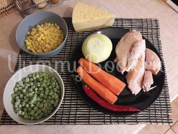 Запечённый фаршированный картофель с копчёной грудкой - шаг 3