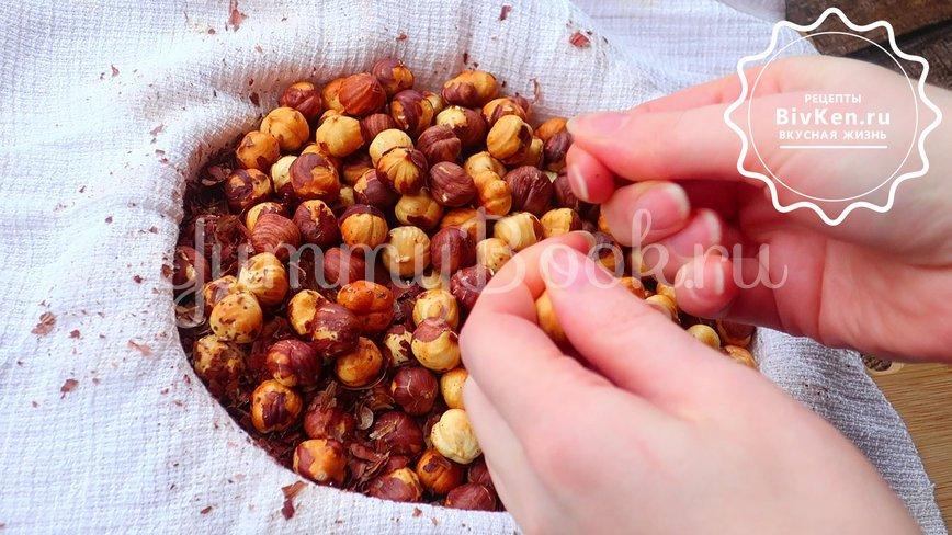 Шоколадно - ореховая паста - шаг 1