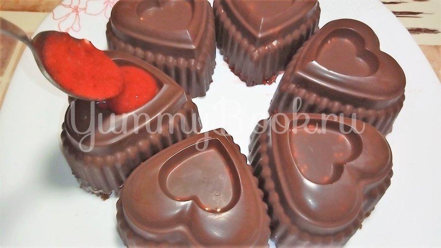Творожной десерт с клубникой на 14 февраля - шаг 4