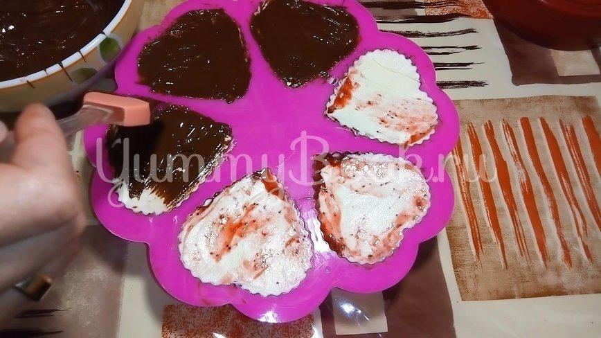 Творожной десерт с клубникой на 14 февраля - шаг 3