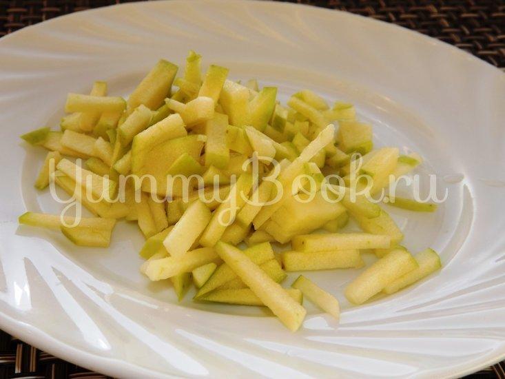 Салат из свежей капусты с имбирем и яблоком - шаг 3