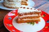 Медовый торт без раскатки коржей