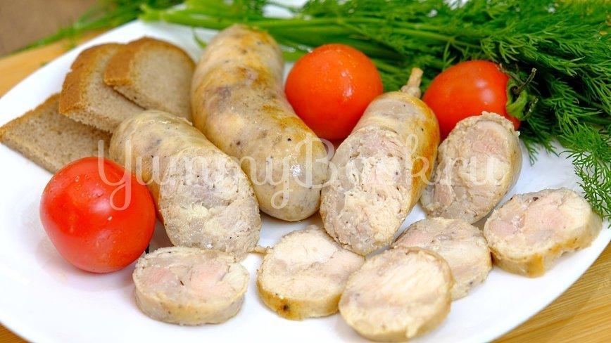 Домашняя колбаса из курицы - шаг 9
