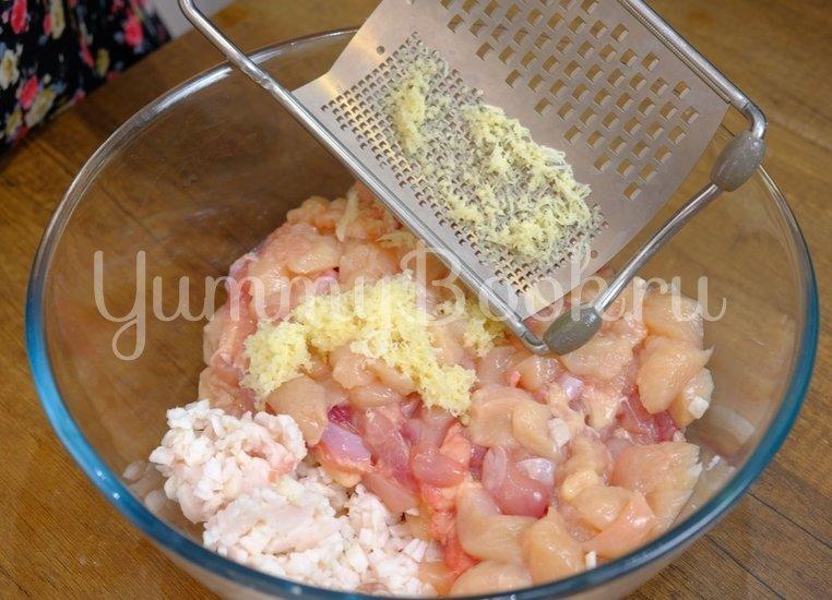 Домашняя колбаса из курицы - шаг 3