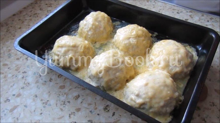 Куриные шарики с сыром - шаг 4