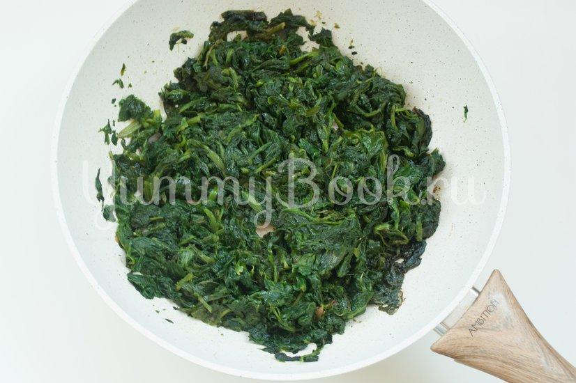 Пирог из теста фило со шпинатом, чеддером и фетой - шаг 4