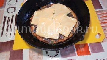 Картофельная пицца с грибами  на сковороде - шаг 4