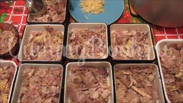 Домашний холодец со свининой и петухом - шаг 4