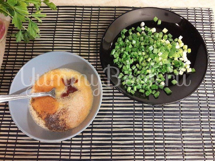 Яичница-болтунья со стручковой фасолью - шаг 3