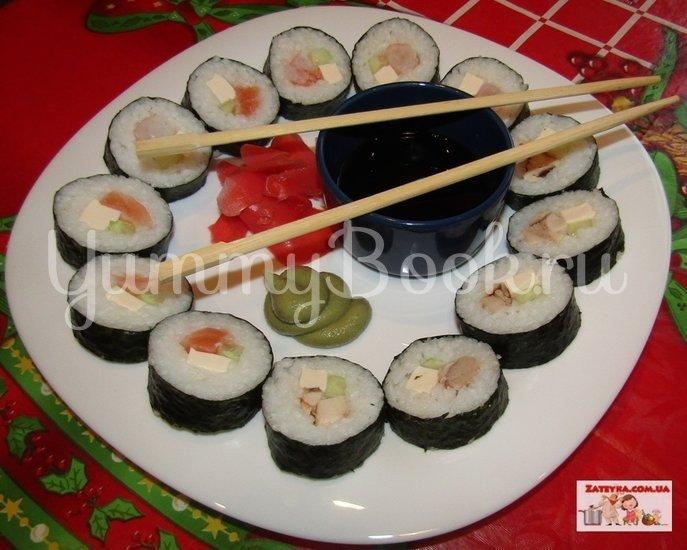 Суши в домашних условиях - шаг 5