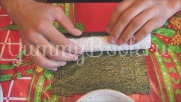 Суши в домашних условиях - шаг 4