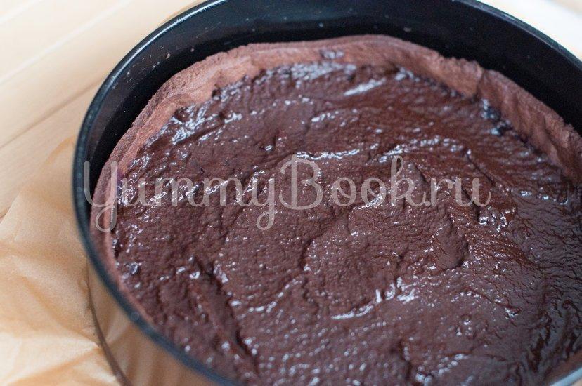 Тарт с черникой и шоколадом - шаг 9