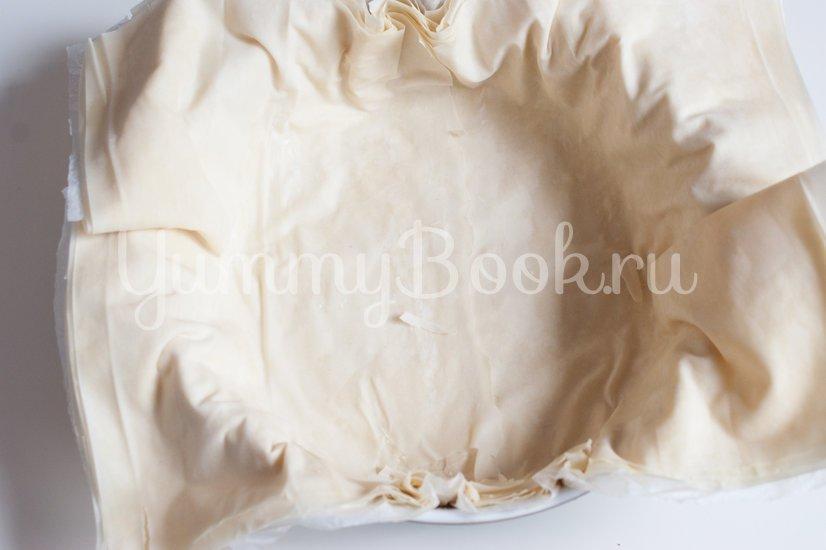 Пирог с заварным кремом и яблоками - шаг 9