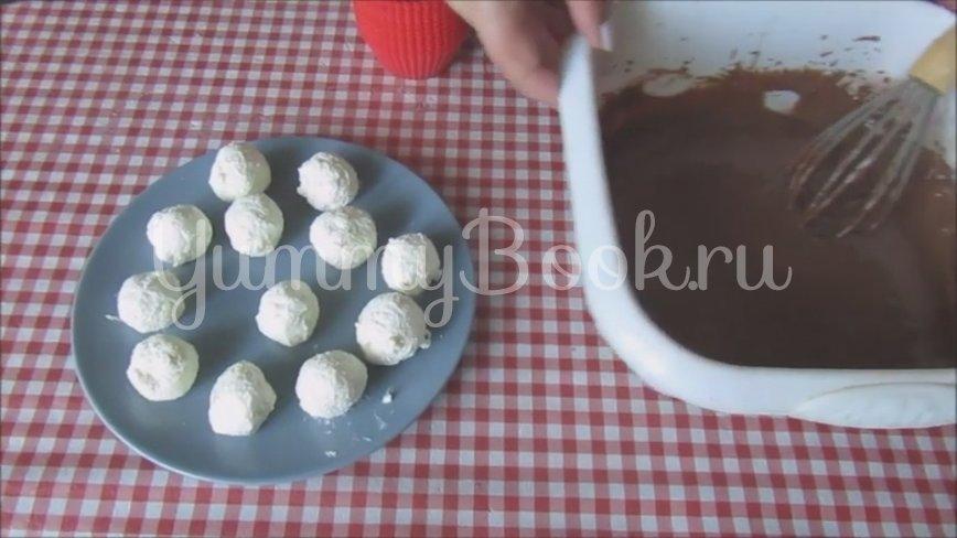 Шоколадные кексы с творогом - шаг 5