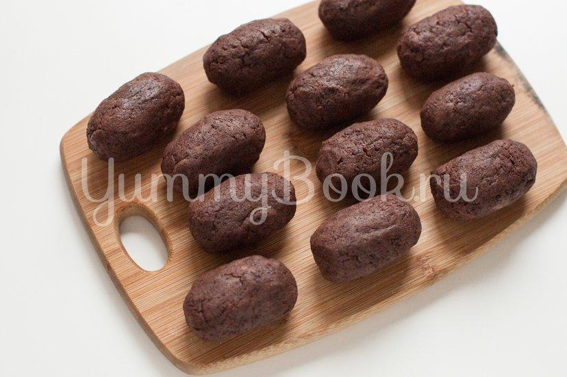 """Трюфельное пирожное """"Картошка"""" - шаг 9"""