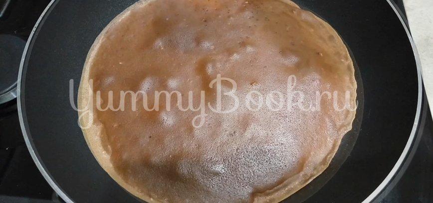 Шоколадные блины на молоке с какао - шаг 5