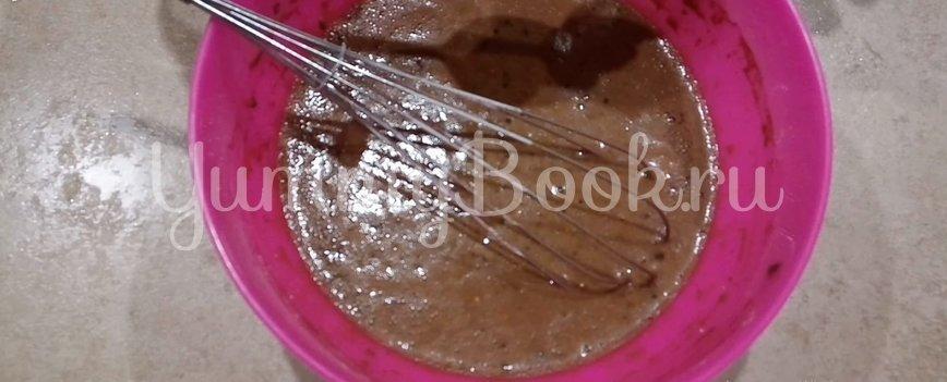 Шоколадные блины на молоке с какао - шаг 4