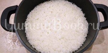 Ежики из фарша с рисом в духовке - шаг 3