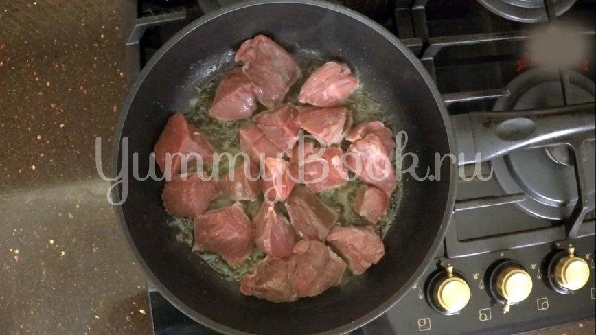 Нудли с говядиной и картошкой - шаг 5