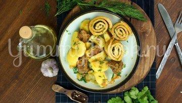 Нудли с говядиной и картошкой - шаг 15