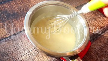 Блинный торт медовик на сковороде - шаг 2