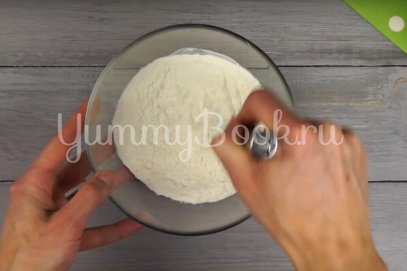 Японские панкейки на молоке  - шаг 1