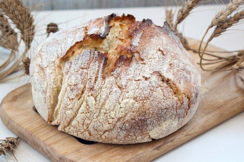 Хлеб без замеса - шаг 5