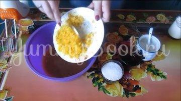 Постные апельсиновые кексы  - шаг 2